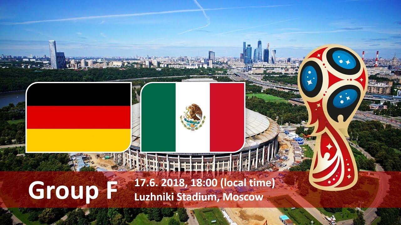 Матч Германия - Мексика пройдет на столичных Лужниках 17 июня. Чемпионат мира 2018 в России