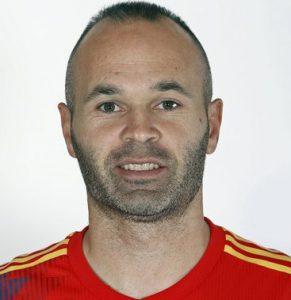 Андрес Иньеста Испания: профиль игрока ЧМ 2018
