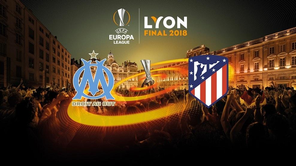 Финал Лиги Европы Марсель - Атлетико: 16 мая, Лион