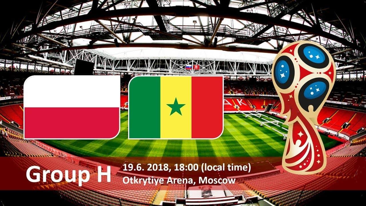 Поединок Польша - Сенегал 19 июня 2018, Москва, стадион Открытие Арена 18:00, группа H Чемпионат мира по футболу