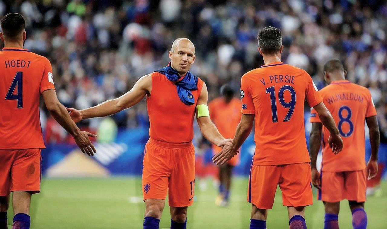 Чемпионат мира 2018 пройдет без Роббена и Нидерландов