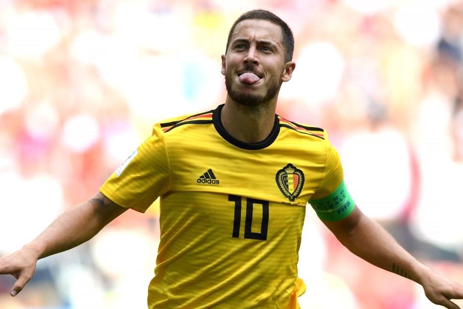Матч Бельгия - Тунис: дубль на счету Азара и Лукаку.
