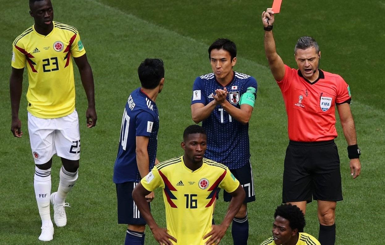 матч Колумбия - Япония: сенсационная победа азиатской сборной