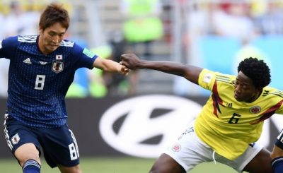 Колумбия - Япония обзор матча