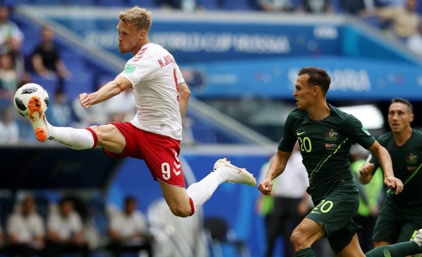 Матч Дания - Австралия: ничья в борьбе за второе место