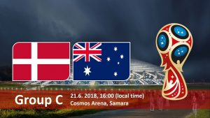 Матч Дания - Австралия: ничья в пользу датчан
