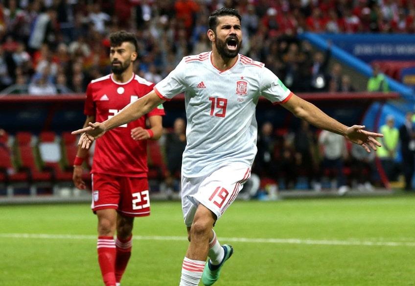 Матч Иран - Испания: Диего Коста снова отличился голом