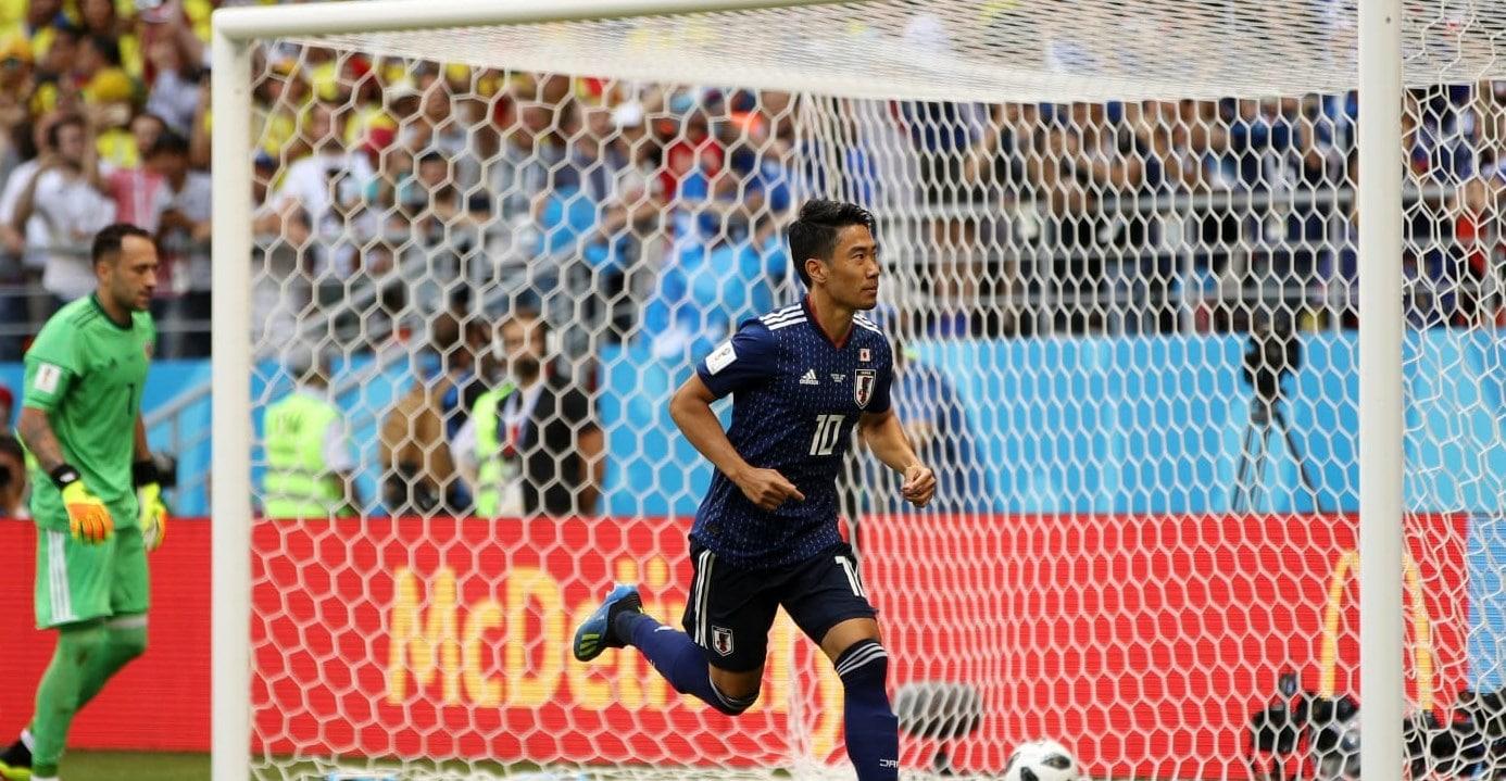 Матч Колумбия - Япония 1:2 Чемпионат мира 2018