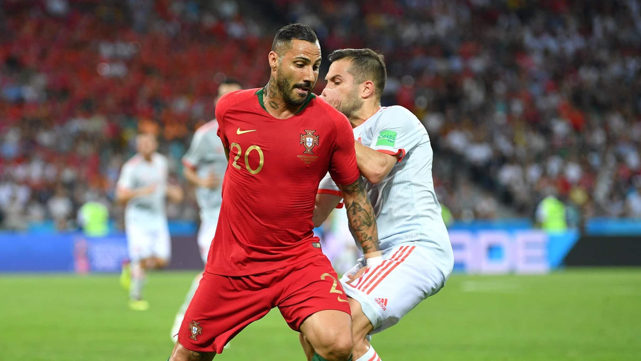 Футбол матч Португалия Испания: результативная ничья - 3:3