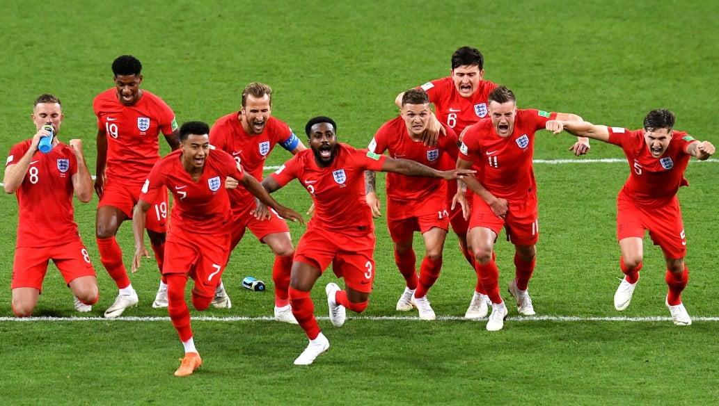 Матч Колумбия - Англия: Три Льва шагают в четвертьфинал!