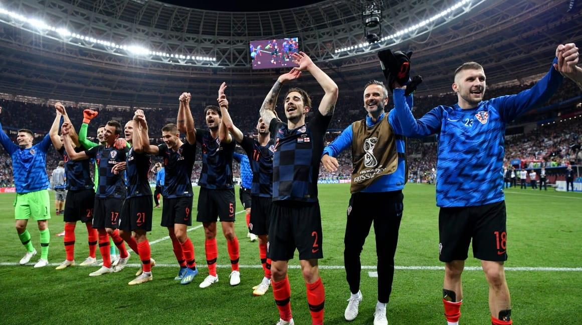 Матч Хорватия - Англия: Манджукич выводит клетчатых в финал