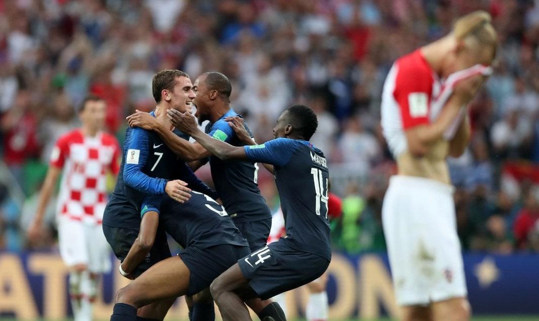 Матч Франция - Хорватия: самый результативный финал с 1958 года