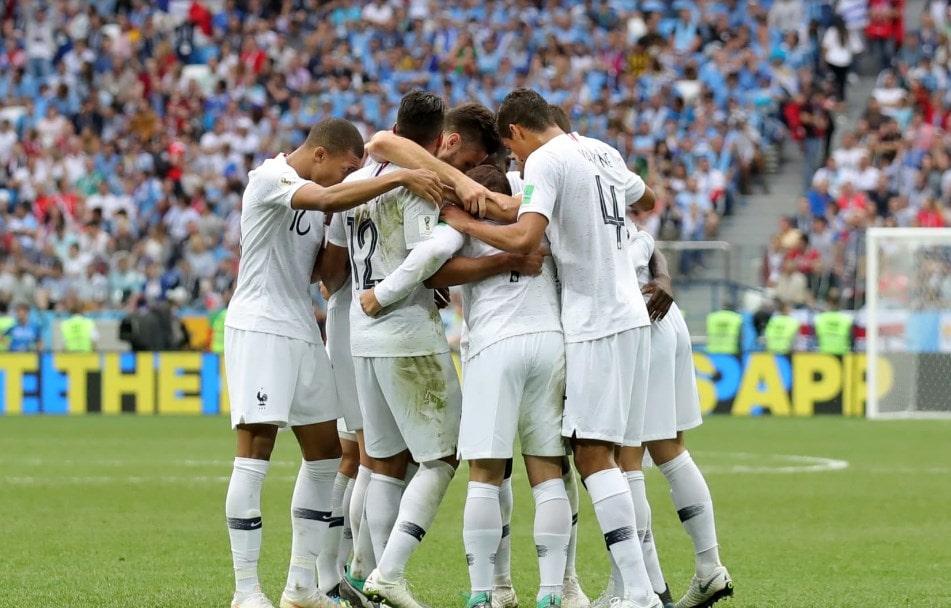 Матч Уругвай - Франция: Ле Бле в полуфинале.